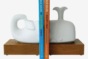 Jonathan Adler Menagerie Whale Bookend Set