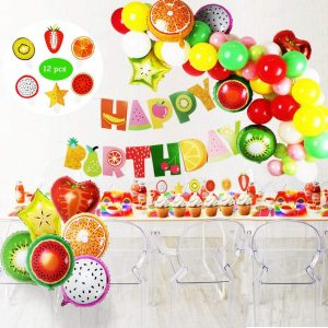 Fruit and birthday wishes