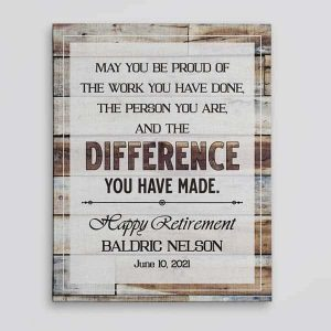 The Difference You Have Made Wall Art